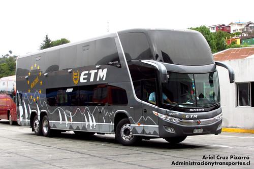 Buses ETM - Puerto Montt - Marcopolo Paradiso 1800 DD / Scania (GTTL71)