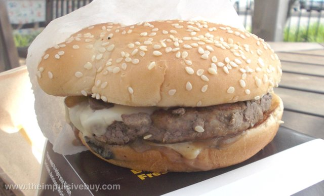 McDonald's Steakhouse Sirloin Third Pound Burger