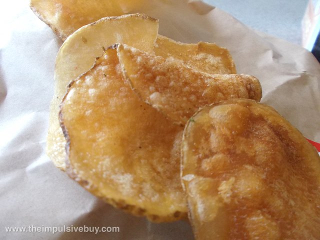 Arby's Garlic Parmesan Housemade Chips 4