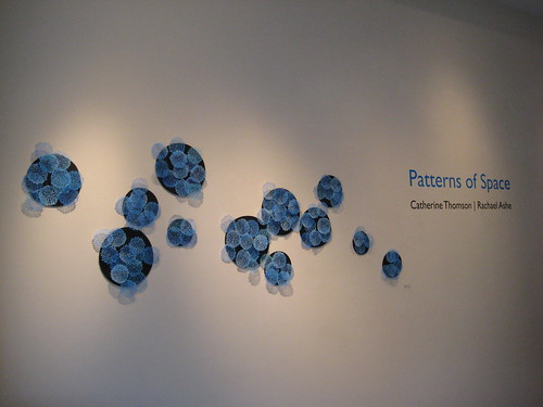Patterns of Space exhibition photos