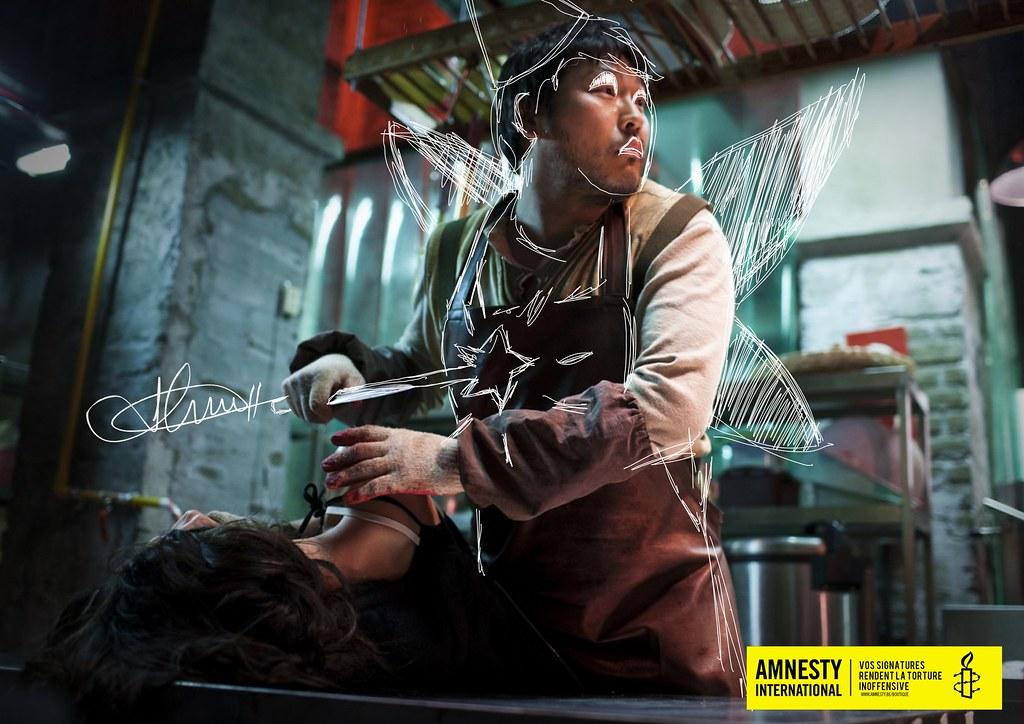 Amnesty International - Signatures against torture Fairy