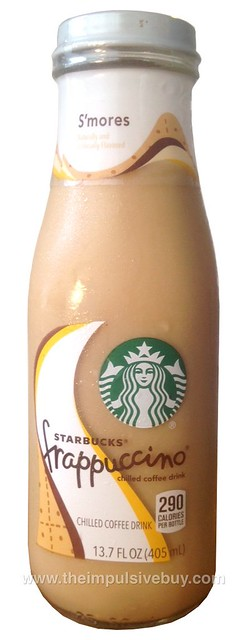 Starbucks S'mores Frappuccino Chilled Coffee Drink
