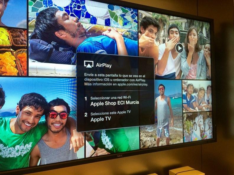 Apple Shop en El Corte Inglés Murcia