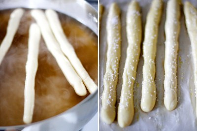 Homemade Hard Pretzel Rods | Girl Versus Dough