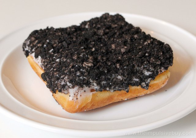 Dunkin' Donuts Oreo Cheesecake Square Donut