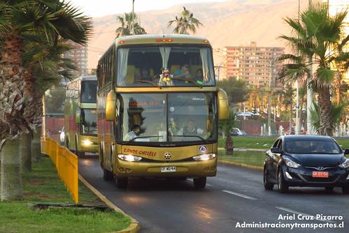 Ramos Cholele - Iquique - Marcopolo Paradiso 1550 LD / Mercedes Benz (CFWD84)