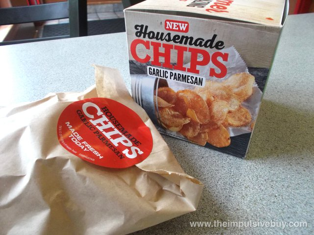 Arby's Garlic Parmesan Housemade Chips