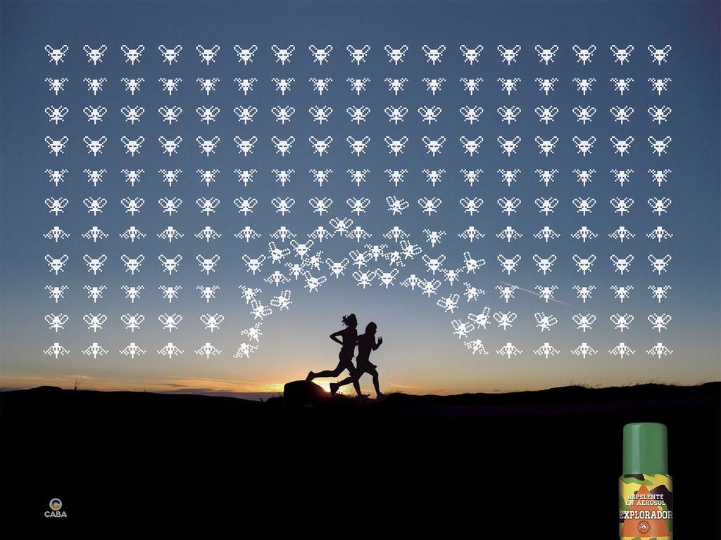 Explorador Repellent - Space Invaders 2