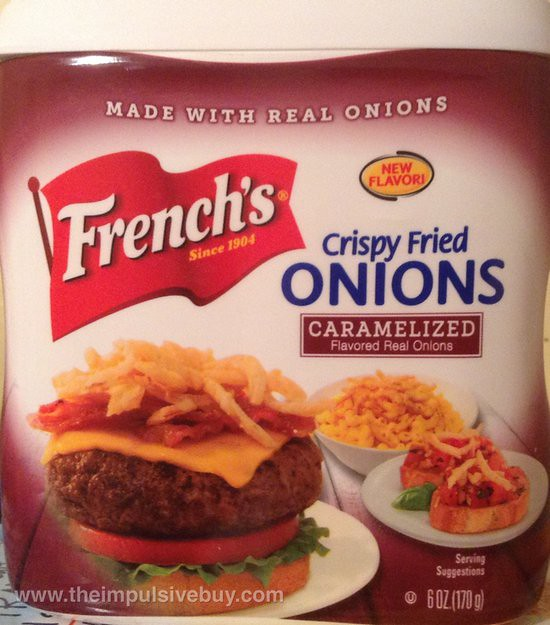 French's Caramelized Flavored Crispy Fried Onions