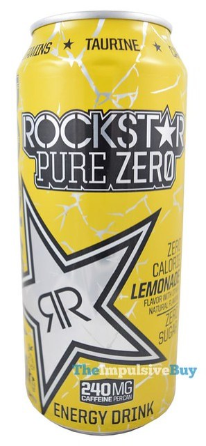 Rockstar Pure Zero Lemonade Energy Drink