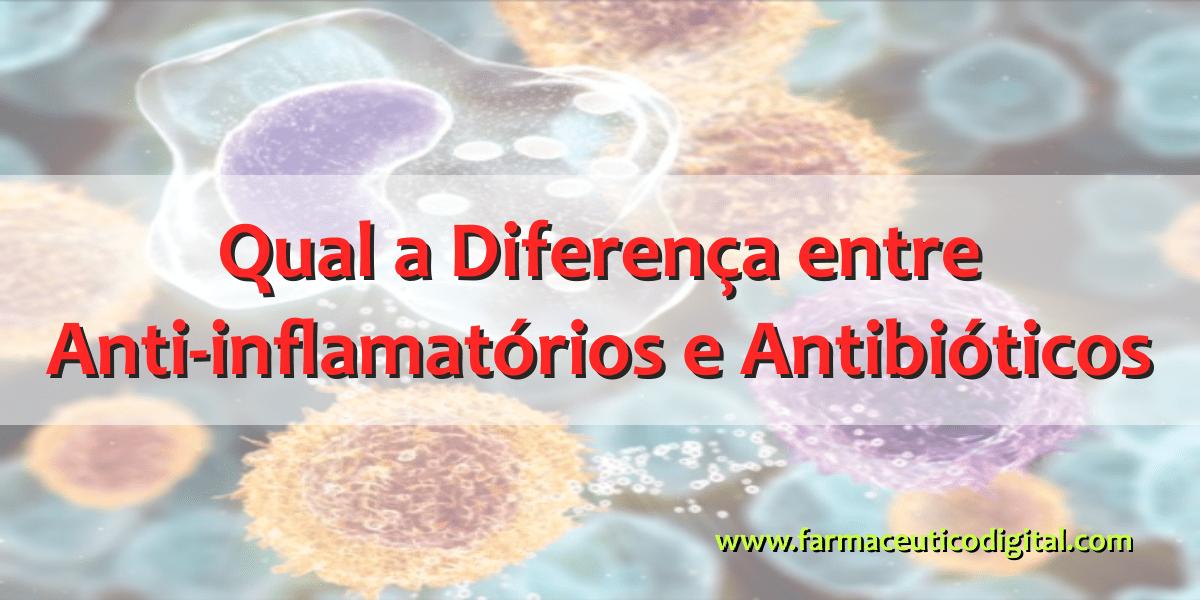 Qual a Diferença entre Anti-inflamatórios e Antibióticos