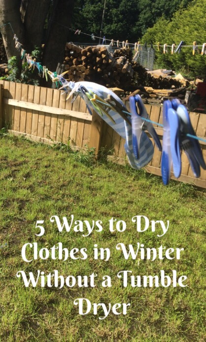 5 ways to dry clothes in winter without a tumble dryer farmer 39 s wife and mummy. Black Bedroom Furniture Sets. Home Design Ideas