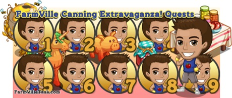 FarmVille Canning Extravaganza Quests