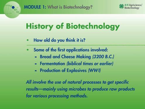 history of biotech