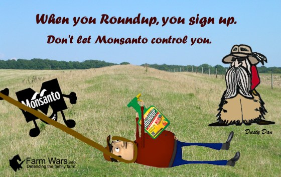 Roundup signup copy