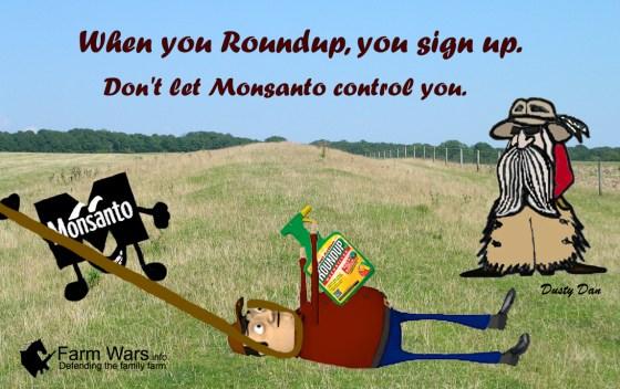 Roundup signup copy