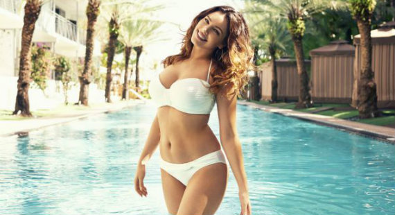 Kelly Brook New Look Swimwear