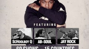 Kendrick Lamar Announces 'good kid m.A.A.d. city' World Tour With Schoolboy Q, Ab-Soul & Jay Rock