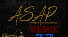 Eric Bellinger – ASAP (Remix) (Ft Hit-Boy & King Chip)