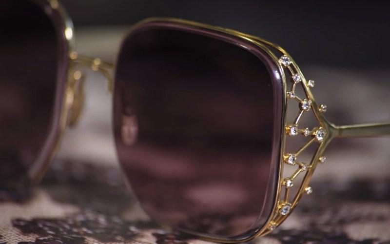 Lunettes Elie Saab, l'élégance d'un bijou