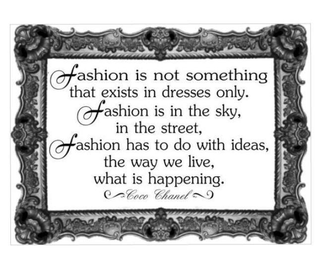 Coco Chanel - Fashion