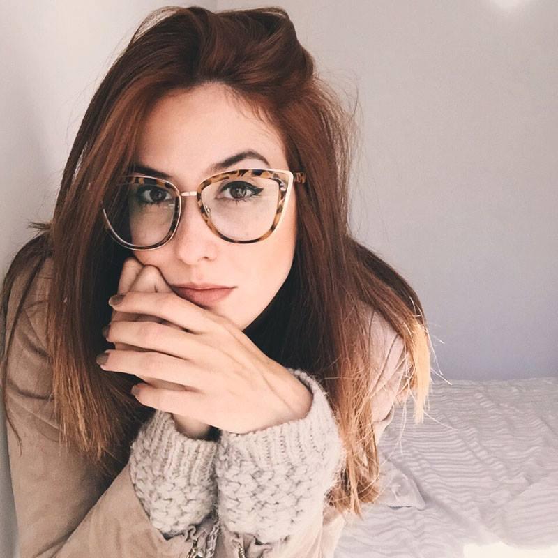 FashionCoolture - cat eyes glasses