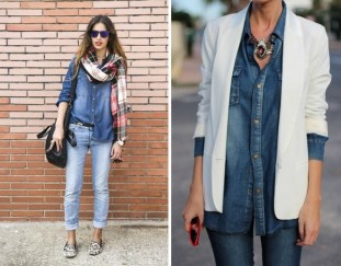 How To Combine Your Denim Shirt?