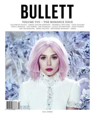 elizabeth olsen cover bullet magazine