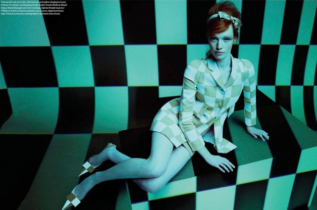 CHANTAL STAFFORD-ABBOTT IN 'POP' BY NEIL MOTA FOR ELLE CANADA MARCH 2013