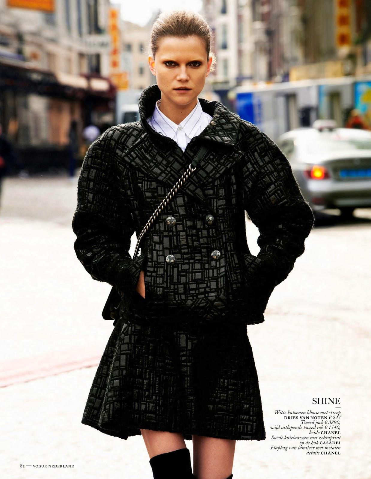 Fashion Forward Vogue Netherlands August 2013 11