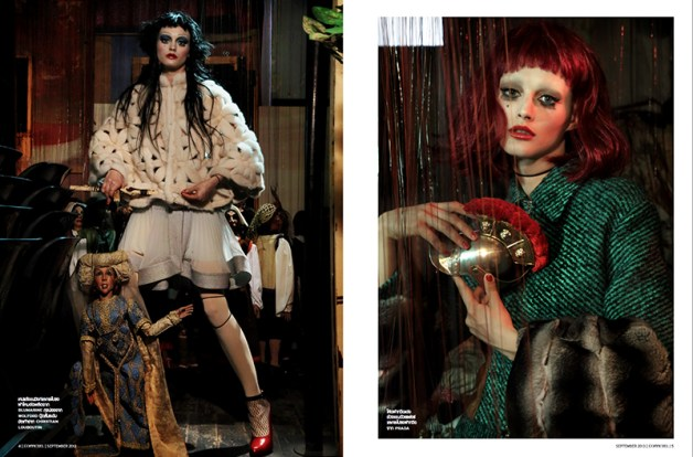 'Just Like A Doll' Sibui Nazarenko by Marco Marezza L'Officiel Thailand 2