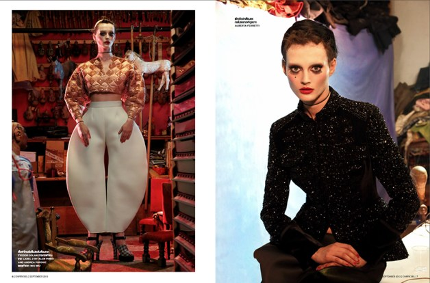 'Just Like A Doll' Sibui Nazarenko by Marco Marezza L'Officiel Thailand 4