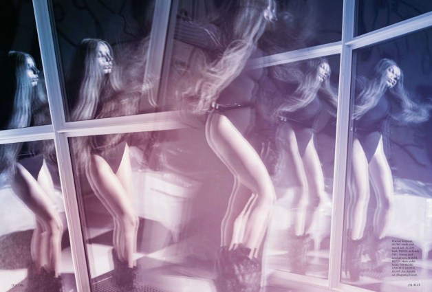 Lady Gaga by Ruth Hogben Elle Magazine 8