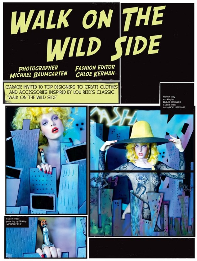 'Walk on the Wild Side' by Michael Baumgarten Garage Magazine 6
