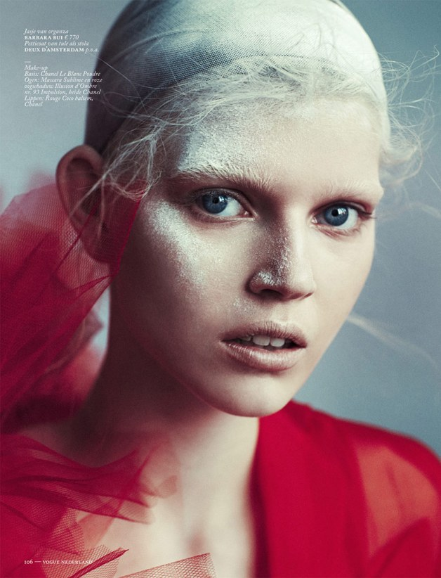 Ola Rudnicka for Vogue Netherlands 14