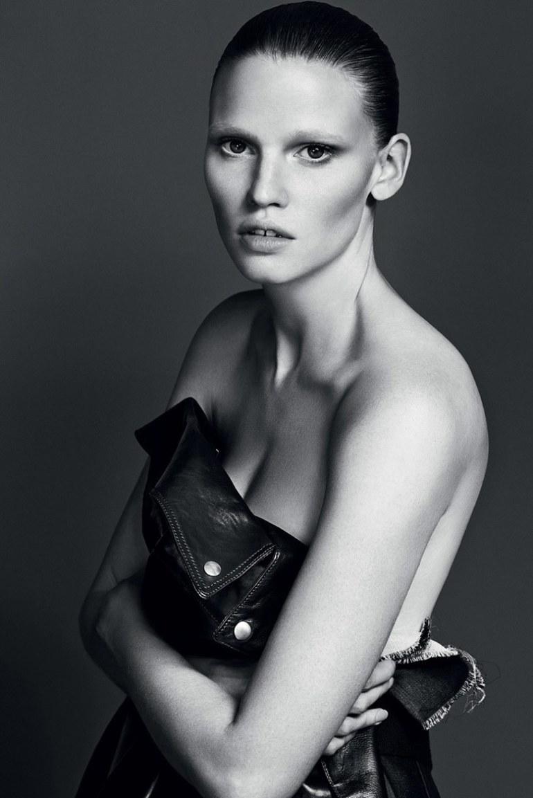 Lara Stone by Erik Torsensson for Industrie #7 2