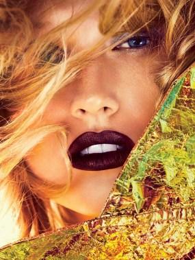 Toni Garrn by Camilla Akrans for Allure Magazine November 4