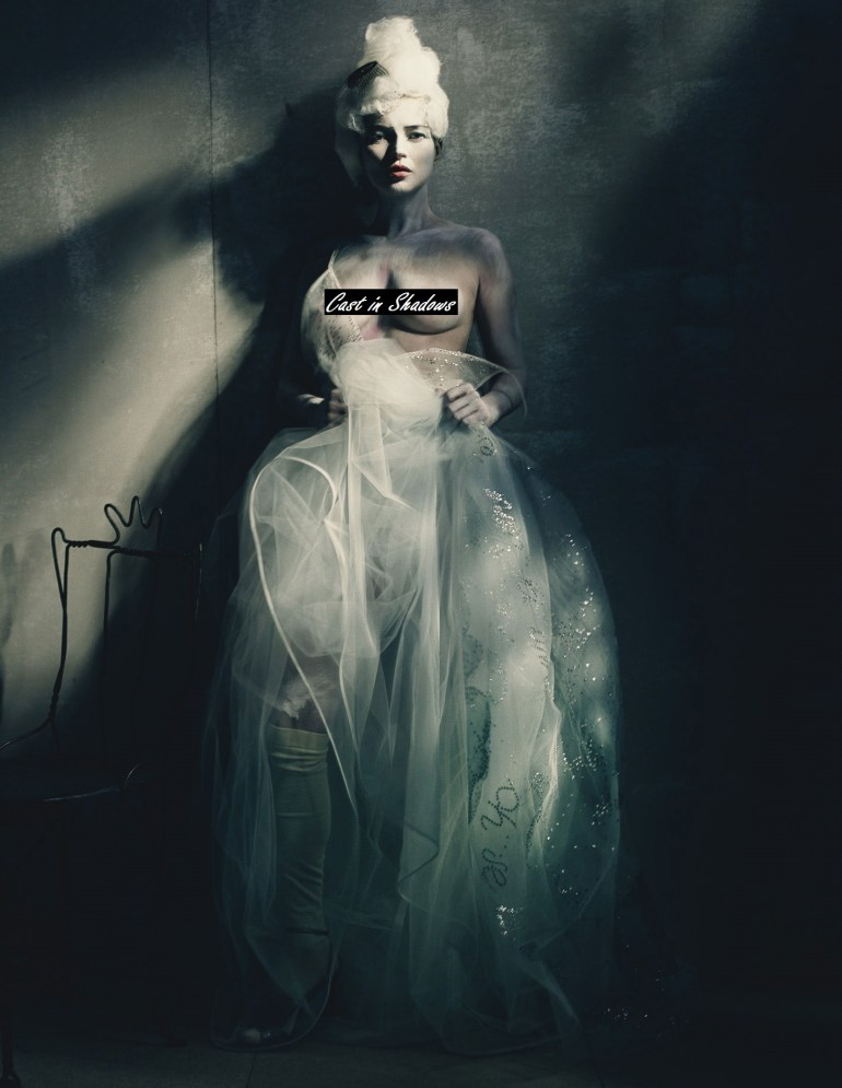 Kate Moss 'Painted Lady' by Paolo Roversi for W Magazine 4