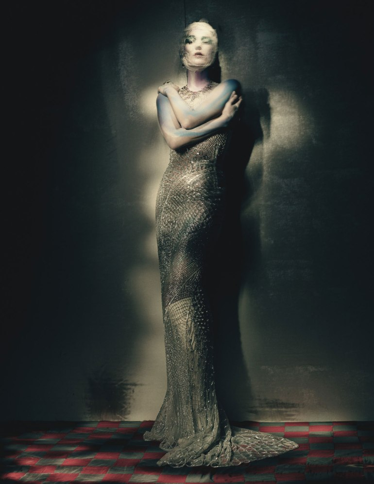 Kate Moss by Paolo Roversi for W Magazine 11