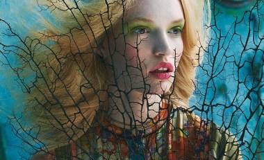 'Tutte In Fiore' for Glamour Italia 13