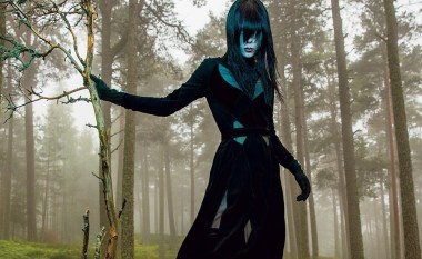 Edie Campbell by Inez & Vinoodh for T Style Women's Fall Fashion 2015 24