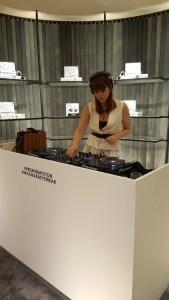 Cécile Togni, DJ @ Max Mara