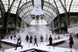 Grand Palais - défilé Chanel Ground Control