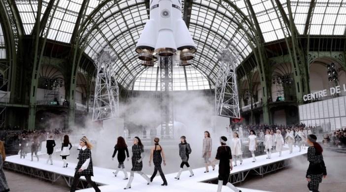Grand Palais - défilé Chanel