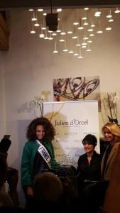 Lancement de la couronne des Miss France 2018 par Julien D'Orcel @ 6 Mandel - Alicia Aylies et Sylvie Tellier