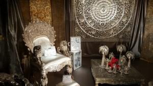 Hermès A tire-d'aile, les Mondes de Leïla Menchari @ Grand Palais