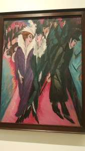 Fondation Louis Vuitton - MoMA exposition - E.L. Kirchner