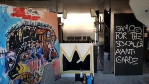 Jean-Michel Basquiat x Corkcicle au Montana Paris