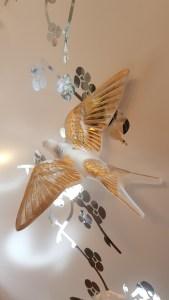Lalique, Hirondelles