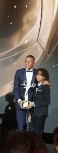 Ballon d'Or 2018 au Grand Palais - Kylian Mbappé en famille